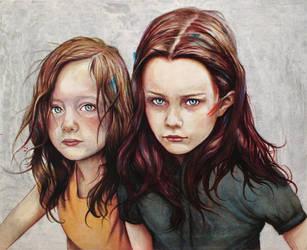 Kierra and DArcy by MichaelShapcott