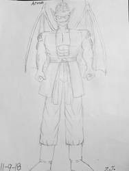 Armon Sketch by DBZGargoylesFan800