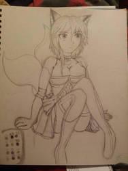 Rieko Nishihara fairy tail version by akidoobly