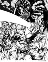 Star Wars by Inker-guy