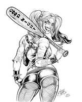 Harley Quinn by Inker-guy