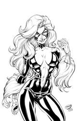Black Cat  by Inker-guy