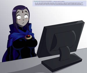 Raven reacts to a passionate post by JustAnotherRavenFan