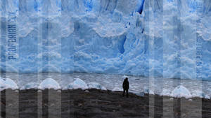 Physicist Brian Cox Glacier Wallpaper by Isensmith
