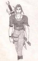 Random warrior by Isensmith