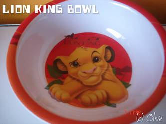 Lion king Bowl by OliveTree2