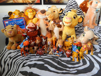 Lion King Stuff For Trade/Sale by OliveTree2