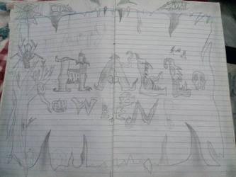 Doddle series: Halloween design? by EragonShadeSlayers