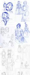 Sketch Dump 2012 No 4 by Plotholetsi