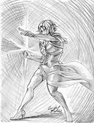 Guild Wars 2 Drawing: Mesmer by Plotholetsi