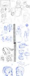 Skyborne Etc SketchDump by Plotholetsi