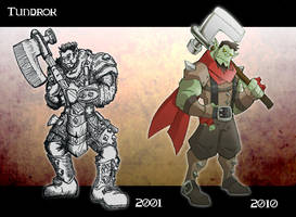 Tundrok: Then and Now by chief-orc