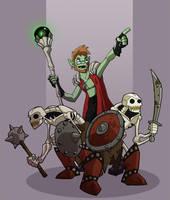 'Dem Bones by chief-orc