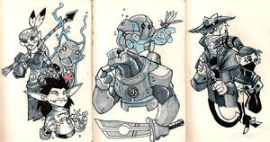 Moleskine: More dungeons and dragons by chief-orc