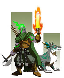 Genesai Ranger by chief-orc