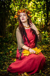 ~Golden Fall~ by AyraLeona