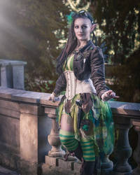 ~Steampunk Absinth Fairy~ by rufflesandsteam