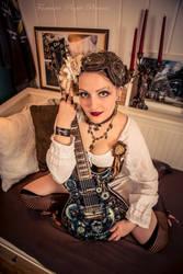 ~ Steampunk Music Muse ~ by rufflesandsteam