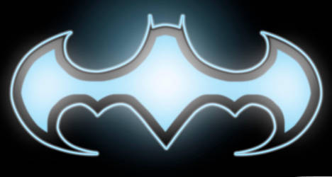 Bat symbol design 3 by KristSimpson