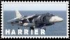 [Stamps] AV-8 Harrier by FrostyFlakesX