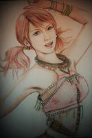 Vanille, Final Fantasy XIII by Bihni