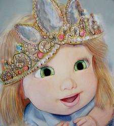Rapunzel Disney Tangled - Baby by Bihni