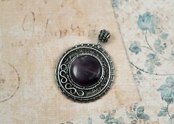 Amethyst Medallion by FreiaInguz