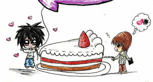 DN: L loves Cakes by tomgirl227