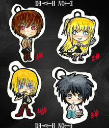 Death Note Chains Set by tomgirl227
