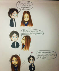 Delena 1x08 by tomgirl227