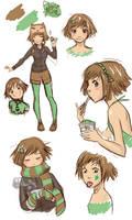 Mint Girl by Paulina-AP