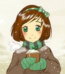 Mint hot chocolate by Paulina-AP