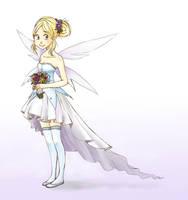 Fairy Wedding dress by Paulina-AP