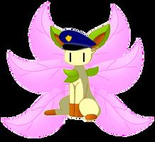 Kitsune Blockeon [Pokesona] by Mrblock28