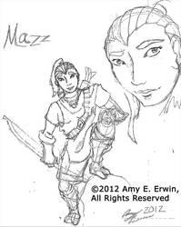 Mazz Gotchya by Amybunbun