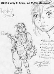 Techy Stella by Amybunbun