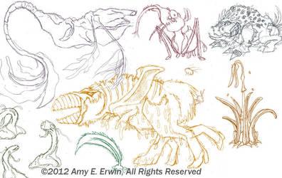 Dec12 Planet Pencils by Amybunbun