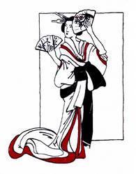 Japanese Print by Benalene