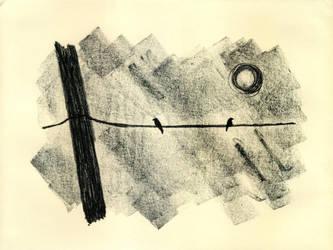 Power Line -mono- by Benalene