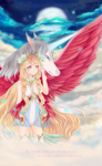 Birthday Gift Halfbody | A piece of heaven by Iceliarea