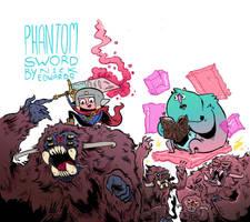 phantom sword monsters by mrdynamite