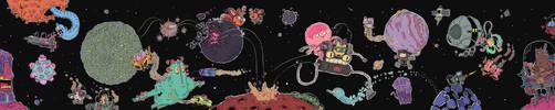 space comic by mrdynamite