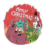 merry christmas everyone by mrdynamite