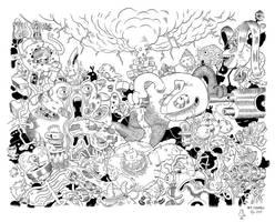 BIG Black and White by mrdynamite