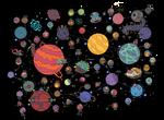 solar system by mrdynamite
