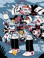 robot construction by mrdynamite