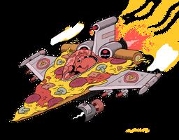 PIZZA JET by mrdynamite