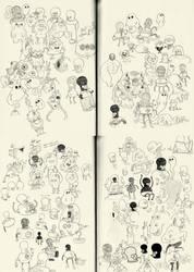 sketchbook workings by mrdynamite