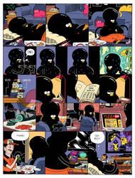 CAVE SHRINE PAGE ONE by mrdynamite