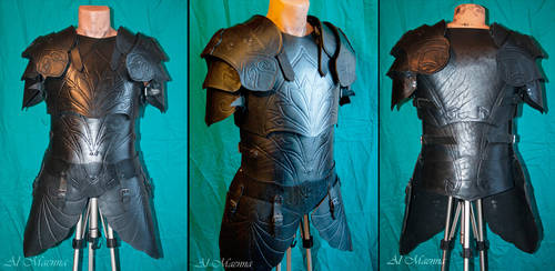 elven cuir bouilli armor by Shattan